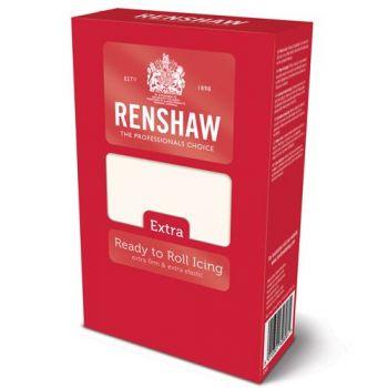 Pâte à sucre blanche 1Kg pro extra Renshaw