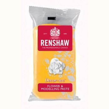 Pâte à modelage jaune Renshaw 250gr