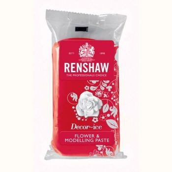 Pâte à modelage rouge Renshaw 250gr