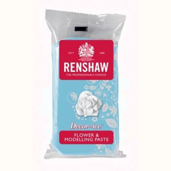 Pâte à modelage bleu clair Renshaw 250gr