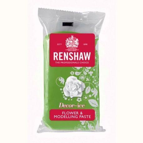 Renshaw Flower & Modelling Paste vert gazon 250g est parfaite pour la modélisation de belles figures, ainsi que pour la fabrication...