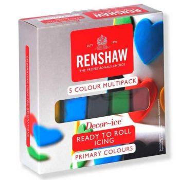 Assortiment pâte à sucre primaire Renshaw