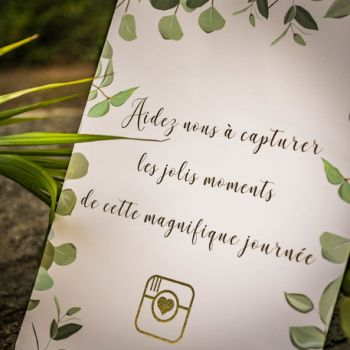 Panneau Capturer moments Eucalyptus or