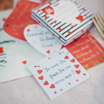 Boite de jeu Amour 35 cartes