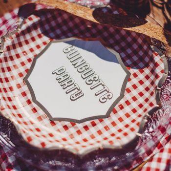 8 Assiettes Guinguette party