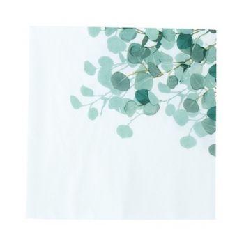 16 Serviettes eucalyptus