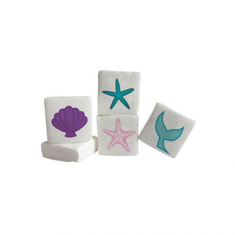 Les Guimize sont des guimauves Marshmallows illustrées pour la fêtes d'anniversaire à thème de votre enfant. La quantité est à choisir...