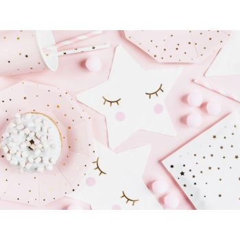 20 serviettes little star