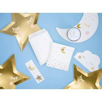 6 Pochettes cadeaux little star avec stickers