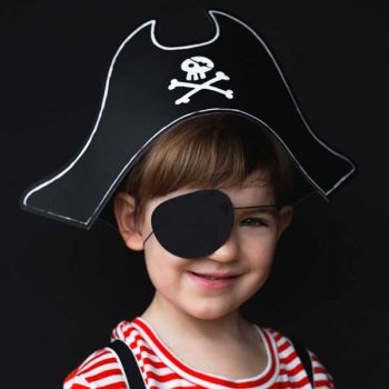Kit chapeau Pirate et cache oeil