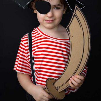 Sabre en carton Pirate