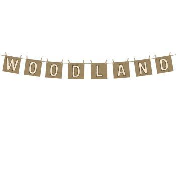 Guirlande Woodland