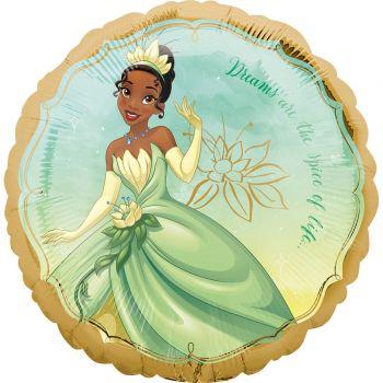 Ballon hélium Princesse Tiana Disney