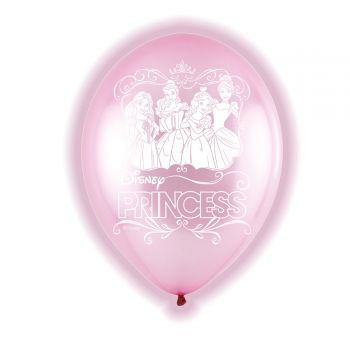 5 ballons LED Princesse Disney