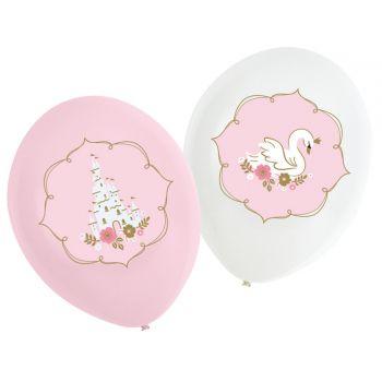 6 Ballons Princesses du jour