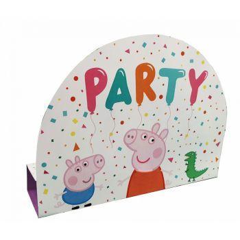 8 invitations d'anniversaire Peppa Pig