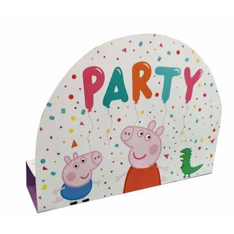 8 cartes d'invitations pour anniversaire Peppa PigLivré avec enveloppes