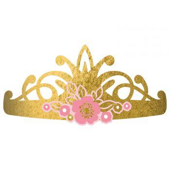 8 tiares princesse d'un jour