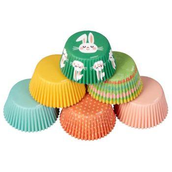 150 caissettes à cupcakes pâques Wilton