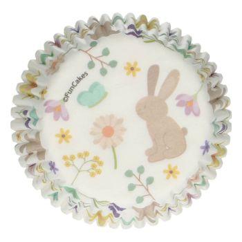48 caissettes cupcakes animaux de Pâques