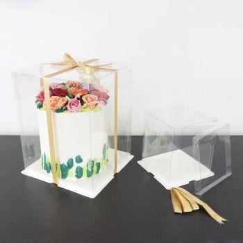 Cake box cristal PME 20cm