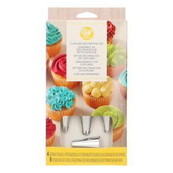 Kit décoration cupcakes Wilton 12pièces