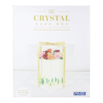Cake box cristal PME 30cm