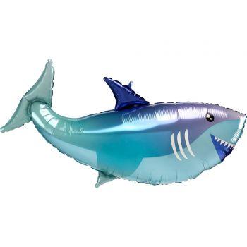 Ballon hélium requin 96cm
