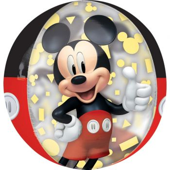 Ballon Orbz helium Mickey 40cm