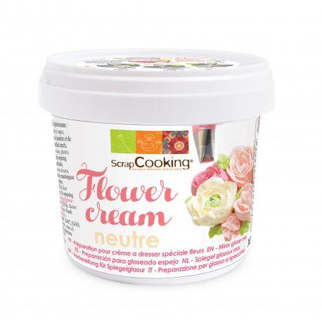 Cette crème à dresser spéciale fleurs est parfaite pour dresser soi-même des roses et fleurs et ainsi décorer un gâteau printanier aux...