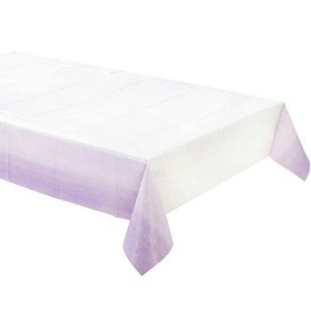 Nappe papier dégradé lilas