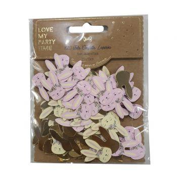 120 confettis lapin liberty
