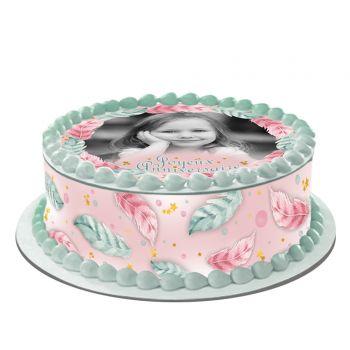 Kit Easycake pour gâteau personnalisé Plumes