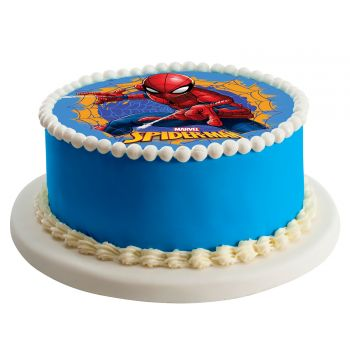 Disque azyme Spiderman 20cm