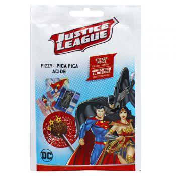 Sucette poudre pétillante Justice league
