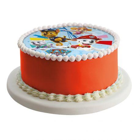 Disque comestible spécialement conçu pour réaliser un magnifique gâteau sur le thème Pat Patrouille en 1 clin d'oeil !Il suffit de...