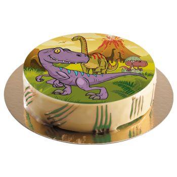 Disque azyme Dinosaure 20cm