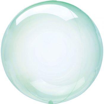 Ballon bulle cristal vert