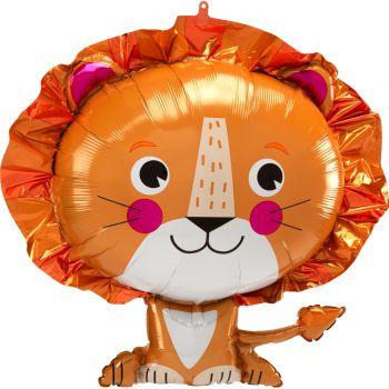 Ballon hélium lion 60cm
