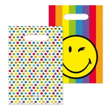 8 Sachets de fête Smileyworld