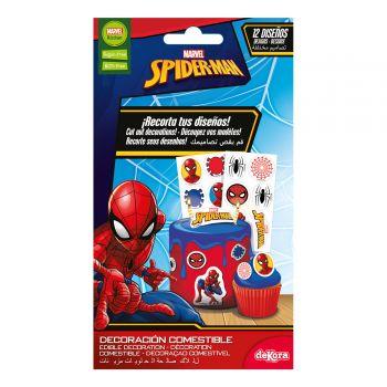 12 Décors comestible Spiderman