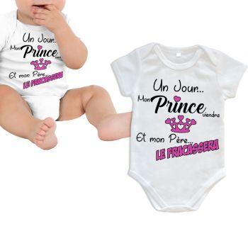 Body bébé Prince viendra