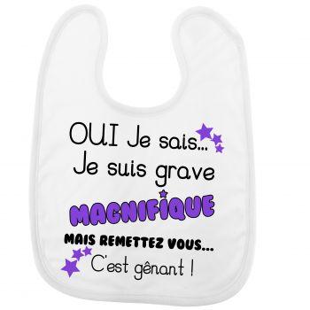 Bavoir Magnifique
