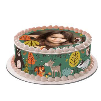 Kit Easycake pour gâteau personnalisé Animaux de la forêt