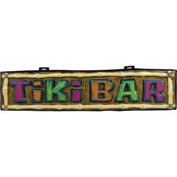 Pancarte Tiki bar en plastique