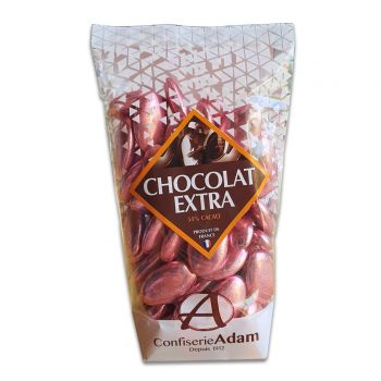 Dragées chocolat brillant pink gold 250gr