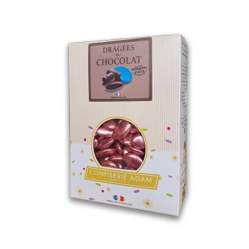 Dragées chocolat brillant pink gold 500gr