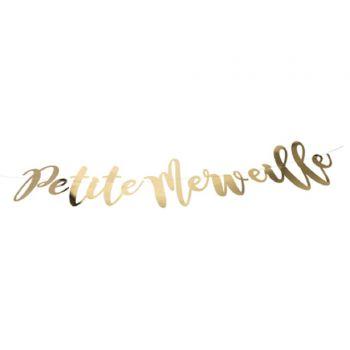 Guirlande Petite Merveille or métal