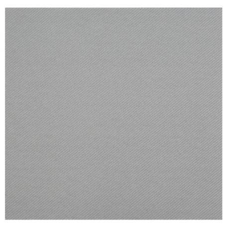 Paquetde 25 serviettes touché velours pour une décoration de table haut de gamme, de couleur griseDimensions: 40 cm x 40...