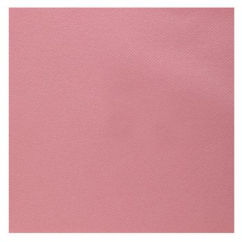25 Serviettes velours luxe rose